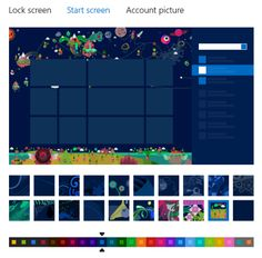 Windows 8, Start screen, patterns, wallpapers, location, images