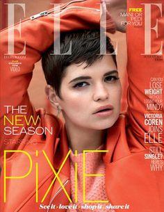 Pixie Geldof lands her first Elle cover 2013