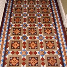 Victorian tiled entry