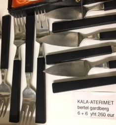 Bertel Gardberg, kala-aterimet Art Deco, Tray, Tableware, Kitchen, Vintage, Design, Dinnerware, Cooking, Tablewares