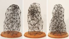 Simply Creative: Geometric Pencil Lead Sculptures by Peter Trevelyan