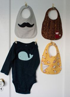 applique boy bib tutorial and free pattern.  UPDATE:  made one.  It might have been cute if I was more careful about being detailed about following the directions.  I wasn't so it wasn't.  :( Was super easy to mess up though!