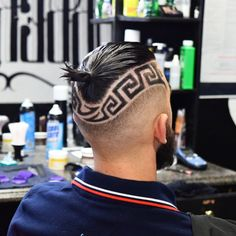 9 Coolest Haircut Designs For Guys in 2017 #besthairstyles