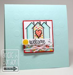 Snappy Stampin w/ Arielle: WELCOME / DS #97...