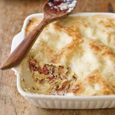 White Lasagna with Mushrooms and Prosciutto | Williams Sonoma