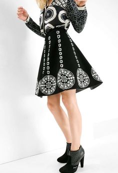 Desigual Lacroix Skirt Sally, Canada