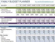 TimeSaving Google Docs Templates  Google Docs Family Budget
