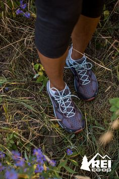 Test your endurance with a trail run wearing shoes built for comfort on rugged terrain. The women's Vasque Constant Velocity trail runners are built on cushioned EVA midsoles. ESS rock plates add forefoot protection against rocks and roots, Traction Plus soles absorb impacts, and molded heel crashpads allow you to land softly. Make these the shoes you pick up for your next trail adventure. Available only at REI.