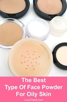 Do you know how to spot a good face powder for oily skin? I find that powders that contain a certain ingredient tend to work the best at controlling oil! Oily Skin Care, Skin Care Regimen, Skin Care Tips, Beauty Hacks For Teens, Makeup Tips For Beginners, Happy Skin, Face Powder, Interesting Faces, Skin Treatments