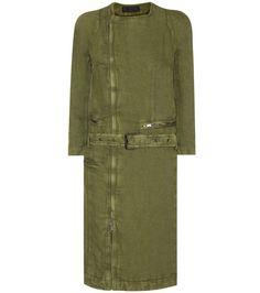 HAIDER ACKERMANN Cotton And Linen Coat. #haiderackermann #cloth #coats