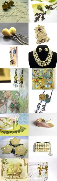Golden dream by Laura P. on Etsy--Pinned with TreasuryPin.com