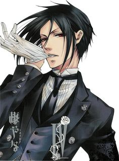 black butler, anime, and Hot image
