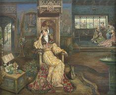 "Archibald Wakley (1873-1906), ""A Royal Princess"""
