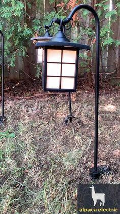 3pcs rare yard path lights installation Outdoor Path Lighting, Path Lights, Light Installation, Light Sensor, Paths, Yard, Ideas, Patio, Pathway Lighting