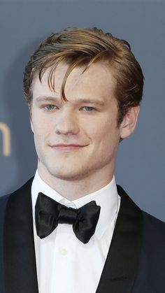 Lucas Till in a suit and bow tie for Festival TV Monte Carlo closing ceremony