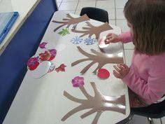 Exploring all four seasons in preschool