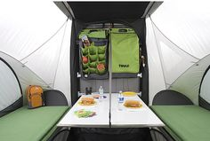 Camping Thule style, definitely a site to check out, scroll down for some serious little campers!