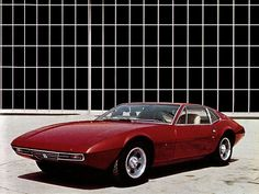 1971 De Tomaso Zonda (Ghia)