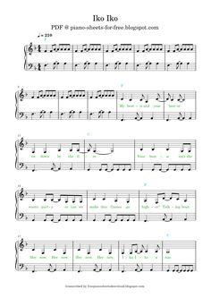 Free Sheet Music, Piano Sheet Music, Sheet Music, Free Piano Sheet Music, Piano Music