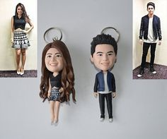 Keychains that are too adorable to ever leave your keys behind. Keychains that are too adorable to ever leave your keys behind. 18 Ultra-Personalized Gifts To Keep When Your Best Friend, Best Friend Love, Friends In Love, Gifts For Boyfriend Long Distance, Boyfriend Gifts, Boyfriend Birthday Gifts To Buy, Girlfriend Gift, Birthday Rewards, Birthday Presents