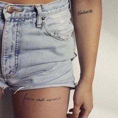 With this quiz, you'll discover which is the best tattoo you should get next. Mini Tattoos, Sexy Tattoos, Cute Tattoos, Body Art Tattoos, Tattoos For Women, Women Thigh Tattoos, Feminine Tattoos, Tatoos, Small Thigh Tattoos
