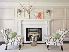 Transitional | Living Rooms | Emily Johnston Larkin : Designer Portfolio : HGTV - Home & Garden Television
