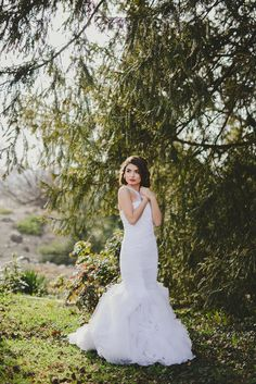 Touch of Spring Spring Day, Formal Dresses, Wedding Dresses, One Shoulder Wedding Dress, Touch, Bride, Hair, Photography, Beautiful