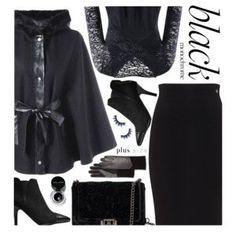 Monochrome: All Black Everything (plus size)