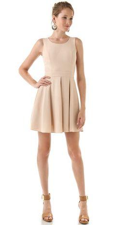 Rachel Zoe Mimi Inverted Pleat Dress @Shopbop