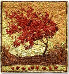 """""""Young Maple #2"""" (25 x 23) by Lorraine Roy"""