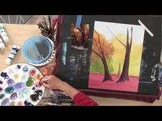 In this preview of Art Lessons with Lee Hammond: Acrylic Landscape Painting, you will learn acrylic tips for brushstrokes and application--how to paint sun rays, choppy water, foliage and rough bark. Then visit http://ArtistsNetwork.tv for access to the full-length video workshop.