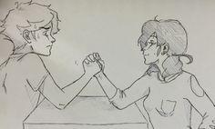 Arm wrestling pt 1