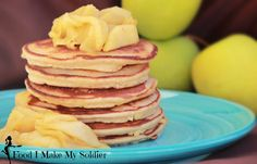 Paleo Apple Pancakes!