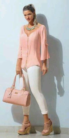 Fashion Design Dress Style Neckline 70 New Ideas Mode Outfits, Fashion Outfits, Womens Fashion, Fashion Pants, Classy Outfits, Casual Outfits, Mode Ab 50, Look Fashion, Fashion Design