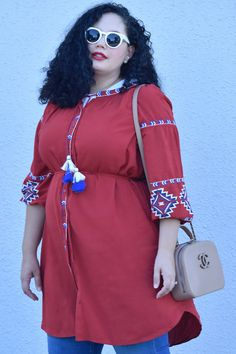 Why Every Woman Should Own a Shirtdress via @GirlWithCurves