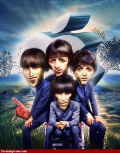 The Beatles Caricatures