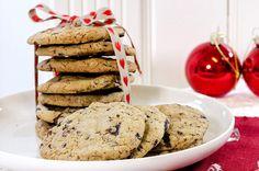 sjokoladecookies-2 Dessert Recipes, Desserts, Christmas Baking, Kiosk, Pancakes, Cookies, Breakfast, Food, Pies