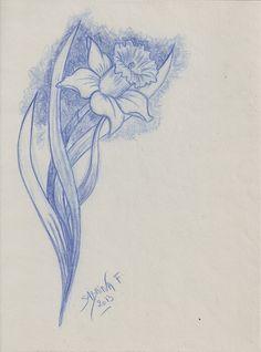 Dessin arrietty draw sabrina f dessins sabrina f - Dessin jonquille fleur ...