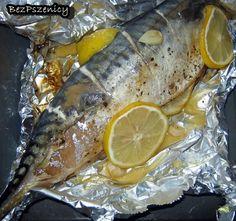 Makrela pieczona cytrynowo-czosnkowa