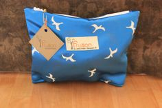 Vintage Satin Seagulls Essential makeup by Fruitionbyjennifield, $12.00