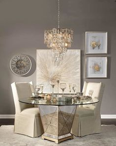 Borghese Victoria Dining Room Inspiration Look On Zgallerie