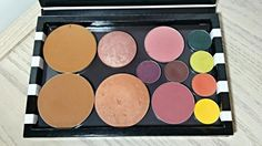 Sephora Collection Dome Z Palette First Impressions Z Palette, Sephora, Eyeshadow, Eye Shadow, Eye Shadows