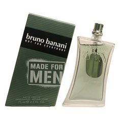 Let the original Bruno Banani - MADE FOR MEN edt vaporizador 75 ml surprise you and define your personality using this exclusive men's perfume with a unique, personal perfume. Discover the original Bruno Banani products! Perfume Live, Perfume 212, Perfume Bottles, Carolina Herrera Men, Armand Basi, Bruno Banani, Lacoste Men, Like4like, Packaging