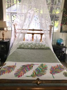 Dream Catcher bed runner applique quilt pattern