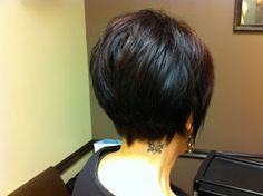 Short Hair Styles: Pics From Salon A ~~@K D Eustaquio Pattison this is so pretty! made me think of you ;)