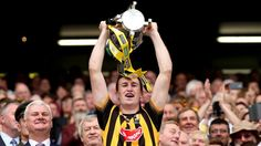 Kilkenny captain Joey Holden lifts the Liam MacCarthy Cup after the Cats beat Galway in the 2015 All-Ireland Hurling final Images Of Ireland, Finals, News, Sports, Hs Sports, Final Exams, Sport