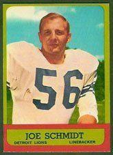 1963 Topps Regular (Football) Card# 35 Joe Schmidt of the Detroit Lions Fair Condition by Topps. $0.90. 1963 Topps Regular (Football) Card# 35 Joe Schmidt of the Detroit Lions Fair Condition