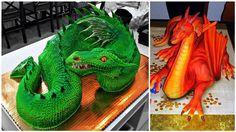 Phenomenal Dragon Cakes [with Tutorial]