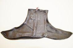 Leather Khuffs in Men's Socks - DesertDress