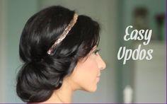 DIY: 5 Easy Updo Hair Tutorials